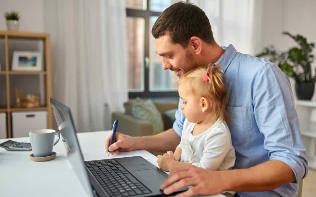 So gelingt das Home Office mit Kindern