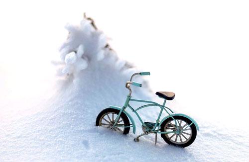 Sicher mit dem Rad durch den Winter